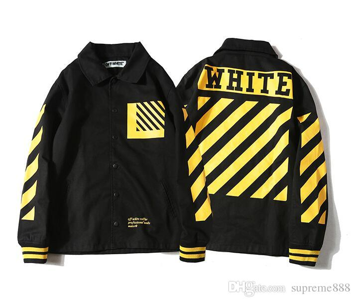 New Designer Off White Jackets For Men Windbreaker Outdoor Sport ...