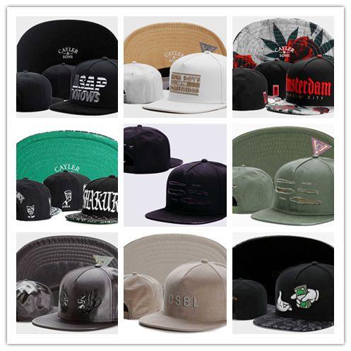 fd81dda92 Hot New Snapback Hats Cayler &BASEBALL CAP Sons Hip Hop Cheap Discount  Custom Caps Wholesale Cheap Snapbacks Drop Shipping Sports BQ0023