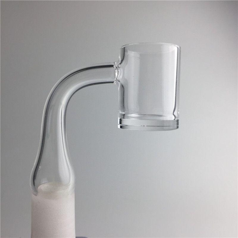 New Flat Top Quartz Banger with 4mm Thick Bottom 2mm XL Honey Bucket 10mm 14mm 18mm Male Female Quartz Nail for Smoking