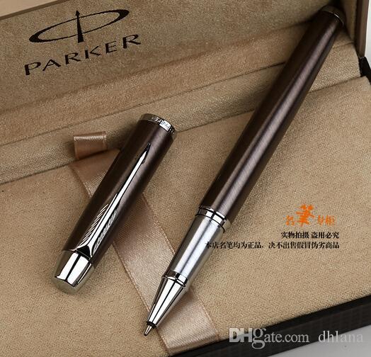 Penna a sfera a forma di penna a sfera in metallo con firma a penna in metallo ufficio fornitori di articoli da regalo Parker Business Excutive Writing Pen Cancelleria di marca