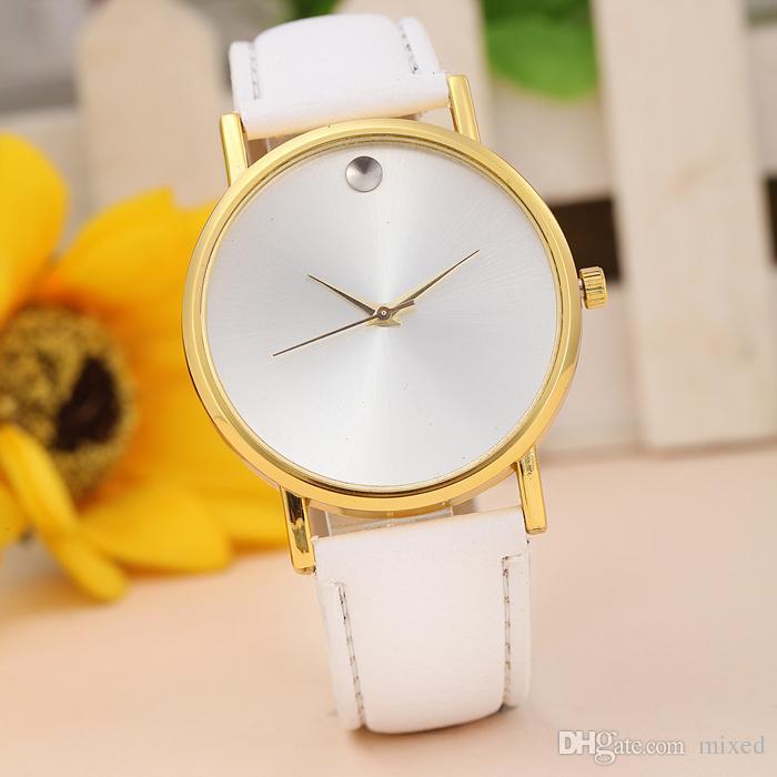 Превосходные часы женские ретро дизайн кожаный ремешок аналоговый сплав кварцевые наручные часы разбавитель