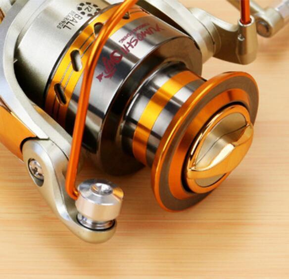 2017 Mulinello da pesca di alta qualità Stella Mulinelli da pesca in metallo pieno 12 Cuscinetti a sfera Mulinello Anti Sea Sea Corrosion Roller Fishing Spedizione gratuita
