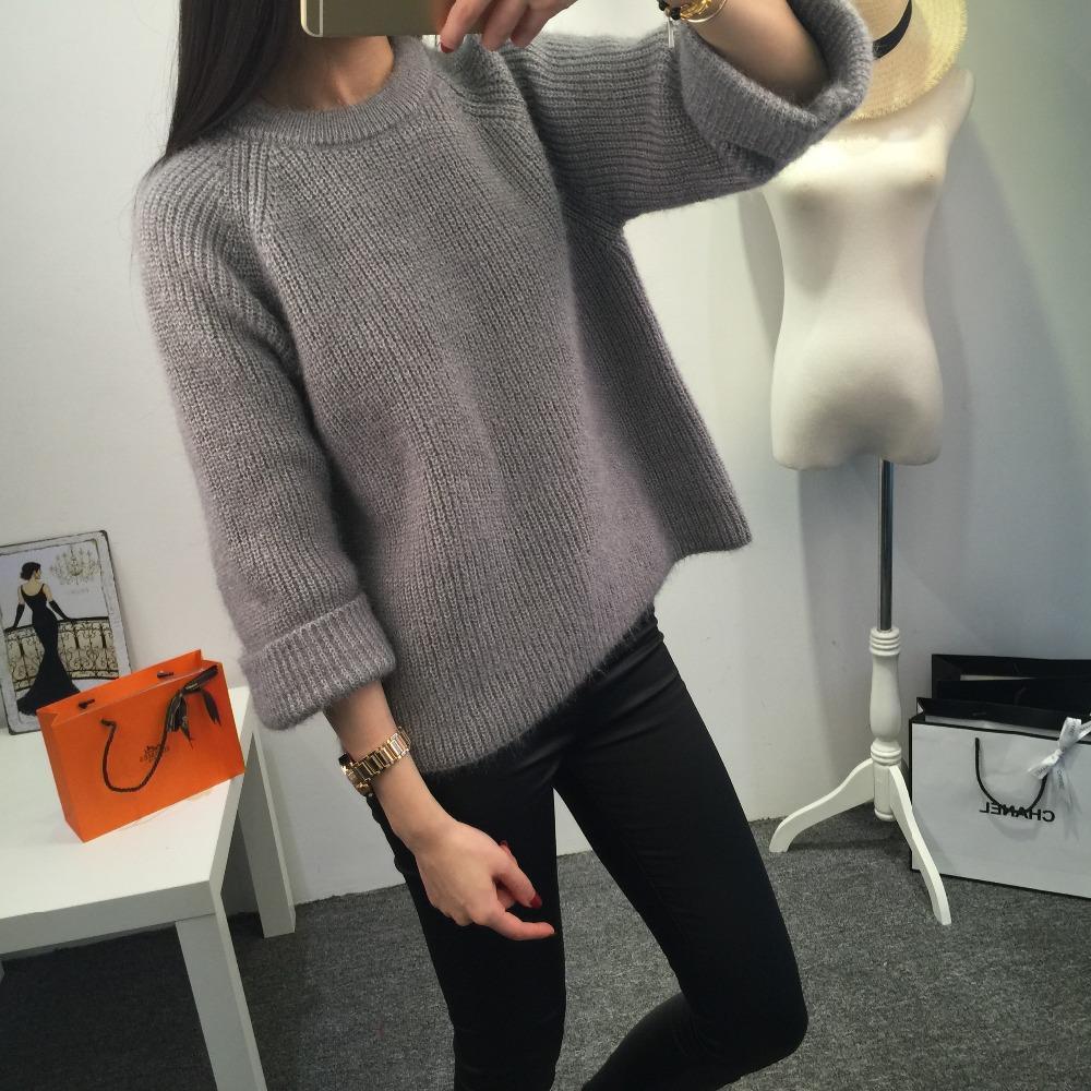 2018 Women Pullover Sweater 2016 Winter New Brand Fashion Warm ...