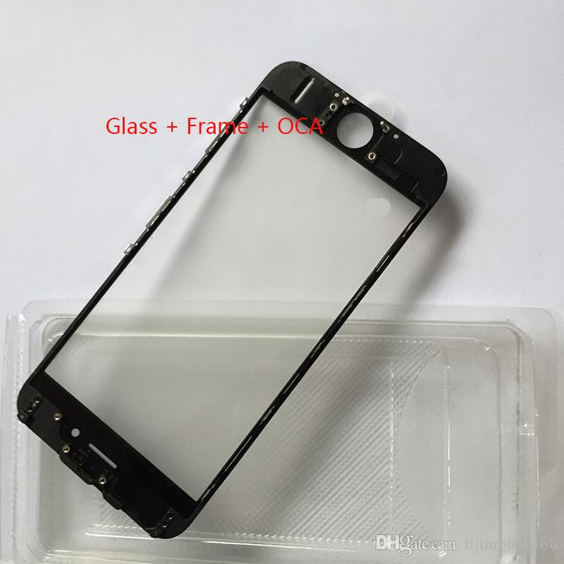 Touch Screen Outer Glass Lens With Cold Press Middle Frame With Oca ...