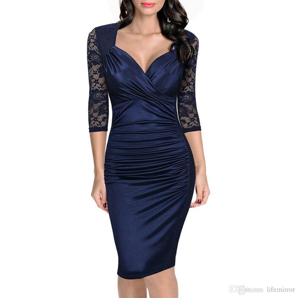 e7f0292ff2 Cheap New Short Lace Dresses Pattern Best Latest Short Lace Dress Styles