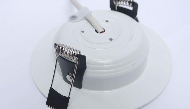 Белый корпус Кри SMD 9 Вт 12 Вт 15 Вт 20 Вт затемнения светодиодные светильники встраиваемые светильники светильник 900lm Сид Сид ac110v 240V теплый/холодный драйверы Белый +