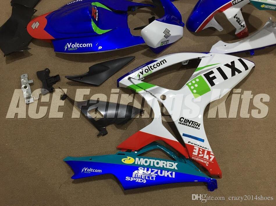 Free gifts+Seat Cowl New bike Fairing Kits For SUZUKI GSXR 600 750 K6 06 07 GSXR-600 GSXR750 GSXR600 GSXR-750 2006 2007 loves FIXI