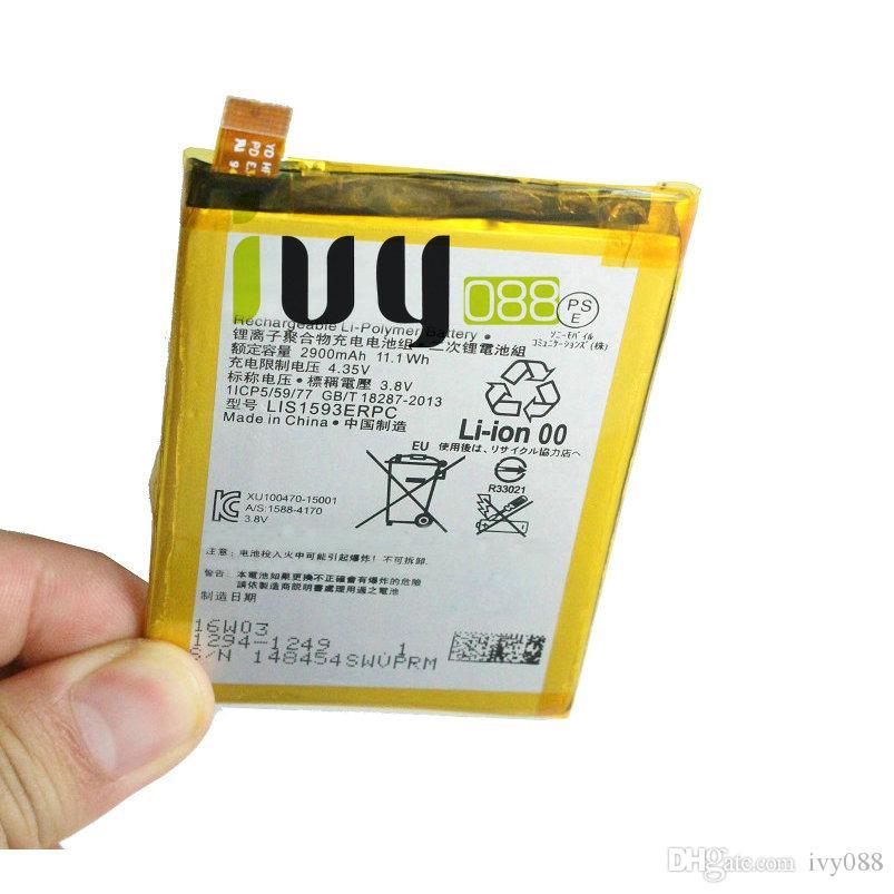 5 adet / grup 2900 mAh LIS1593ERPC Değiştirme Z5 E6653 E6683 E6603 E6883 E6633 Piller Için Pil Şarj Edilebilir Li-Polimer Pil