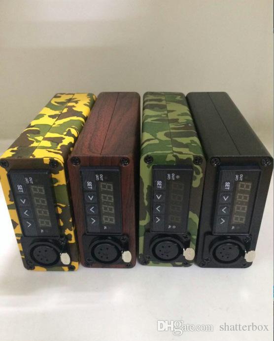 E 석 네일 kit 전기 dab 못 휴대용 dabber 장 티타늄 못 dabbing E D 왁스 기화기 PID 디지털 방식으로 상자를 위한 유리 물 bong