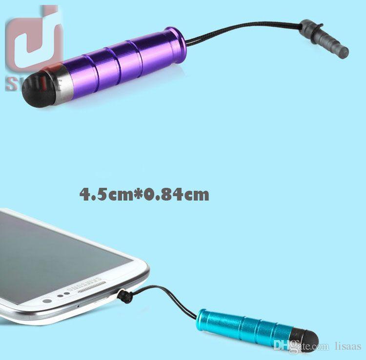 Cep telefonu için toz fişi ile / Unviersal Mini Stylus Touch Pen