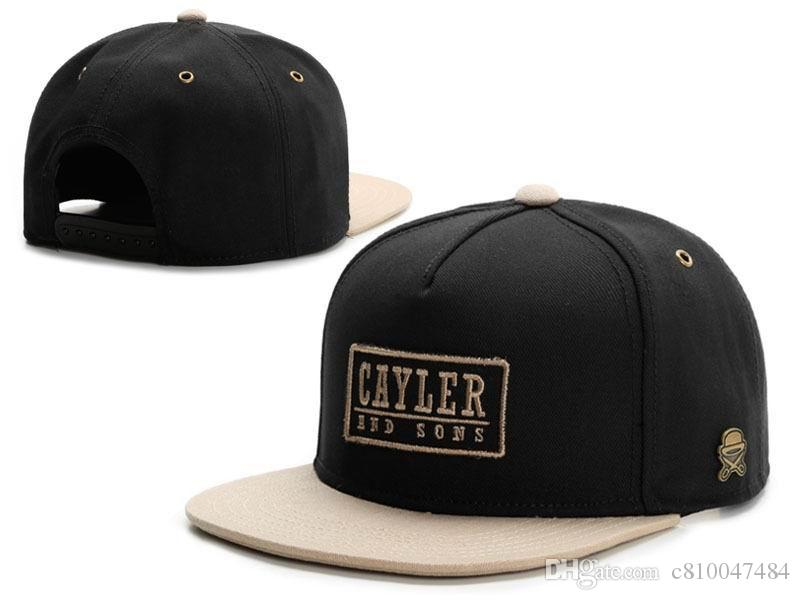 361109709d6d9 Compre Cayler Sons Snapback Hats Gorras De Béisbol Peak Sport Gorras Planas  Cap Hip Hop Gorras Snapbacks Casquette Polo Cap A  7.54 Del C810047484