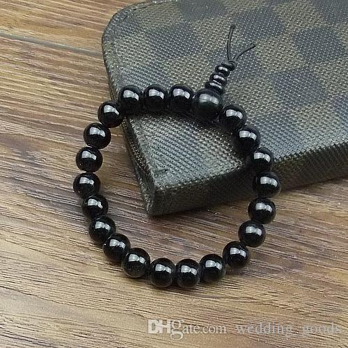 Good A++ Glass beads, beads beads bracelet, imitation stone, imitation agate, hand string FB034 a Beaded, Strands