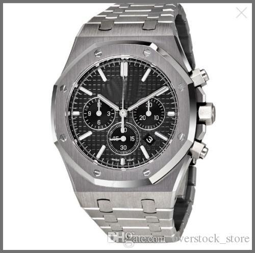 01 Cronógrafo 1220st 26320st Oak Royal Dial Reloj Negro Hombres oo QrdtsCh