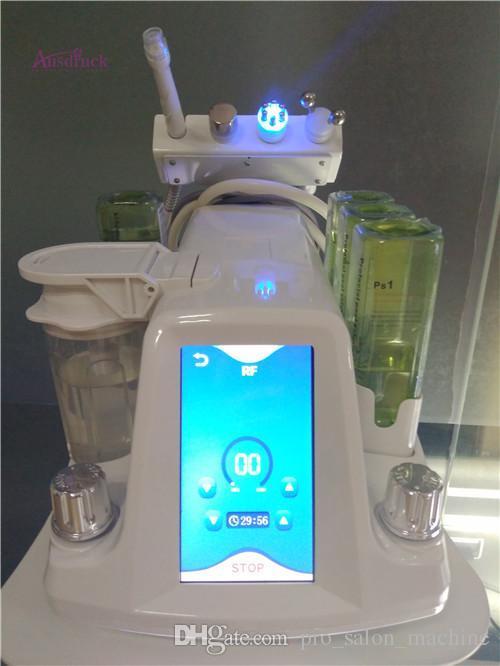 Pro Hydra Dermabrazyon RF Biyo-kaldırma Spa Yüz Makinası / Aqua Yüz cleaningl Makinası / su Kese Dermabrazyon