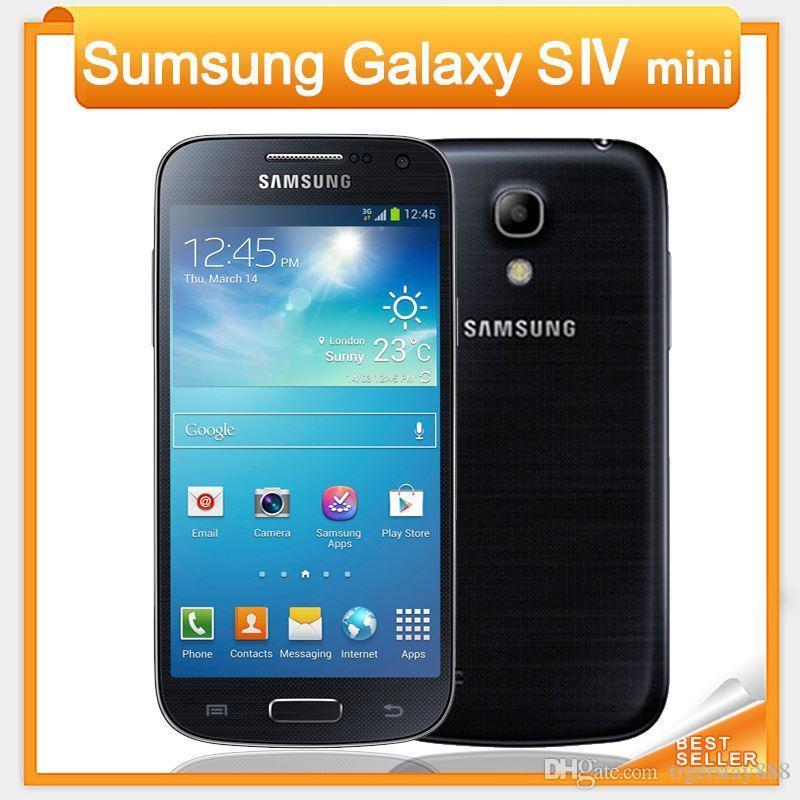 0704d0c5c Compre Samsung Galaxy S4 Mini I9192 I9195 Telefone Celular 3G Toque NFC  WIFI GPS 8MP Câmera Desbloqueado Telefone Remodelado Celular De  Tigerstay888, ...