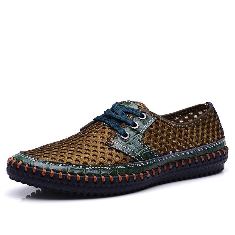 6997c6ad0b5 Men Sandals Genuine Leather Fashion Summer Shoes Men Slippers ...