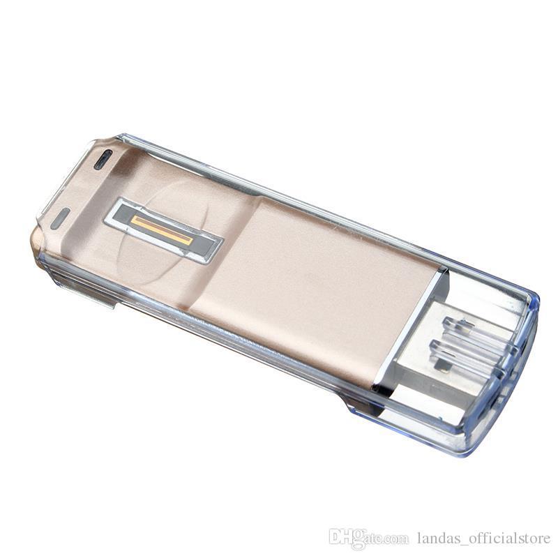 지문 슬라이딩 잠금 해제 USB 플래시 드라이브 2.0 안 드 로이드 스마트 폰 플래시 메모리 스틱 Pendrive U 디스크에 대 한 OTG 펜 드라이브