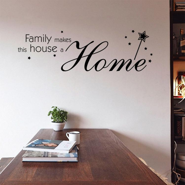 9348 family make this house a home quote wall stickers inspirational wall decals home decor home decals walls home decor decals from fst1688 5 31 dhgate