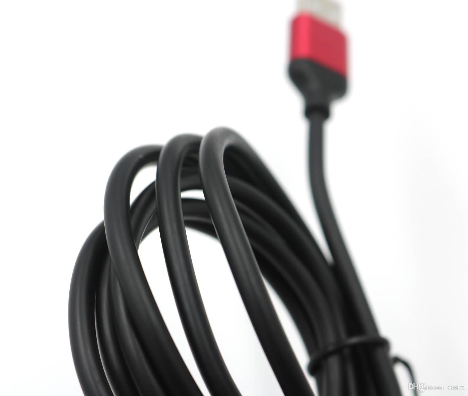 Samsung S6 S7 S8 Şarj Veri Kablosu için Mikro USB Kablo Casim Marka 3A Hızlı Aktarım Kabloları için 1.5M Tip C