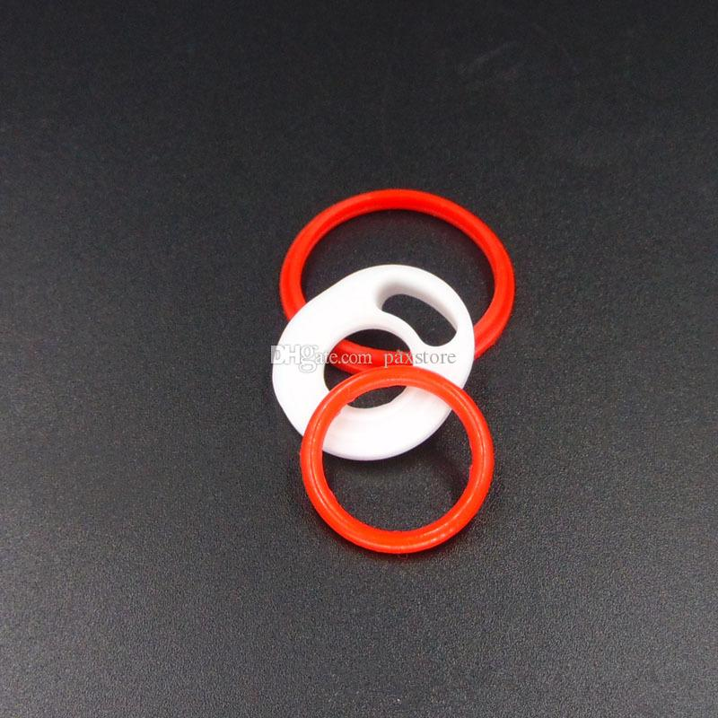 TFV12 Príncipe Bebé Príncipe TFV8 Big Baby pluma vape 22 Sello de silicona anillos O Anillo de Goma de Reemplazo Superior Sellado de Almohadillas Blancas O Anillos