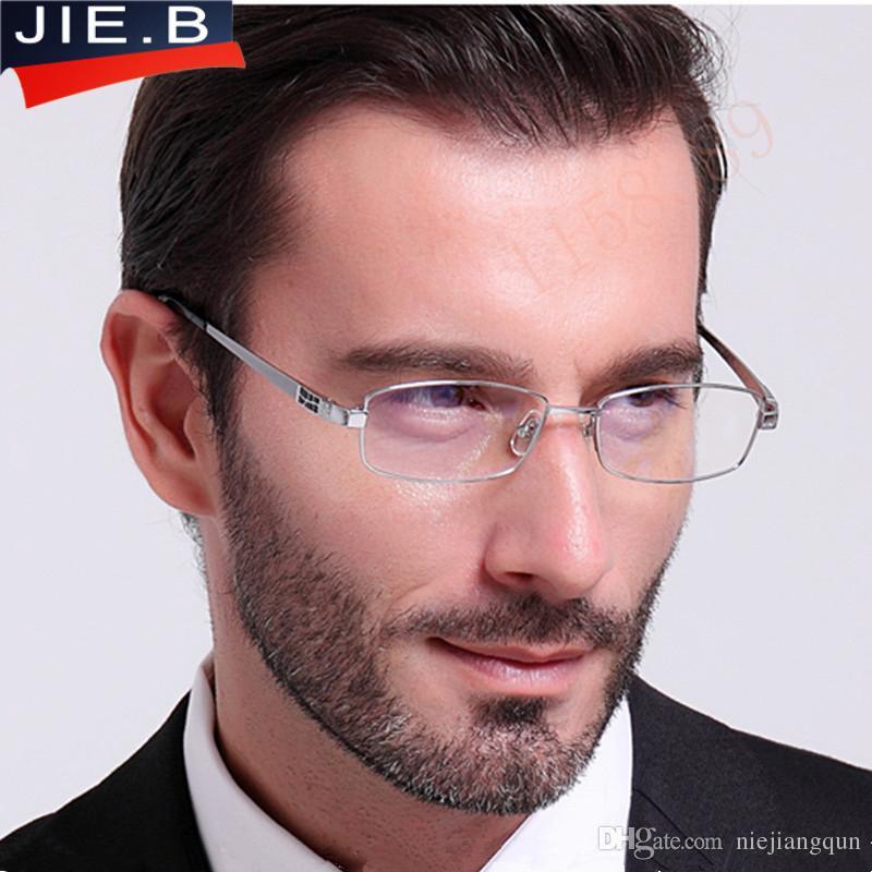 Pure Titanium Eyeglasses Frames Men Optical Glasses Frame Brand ...