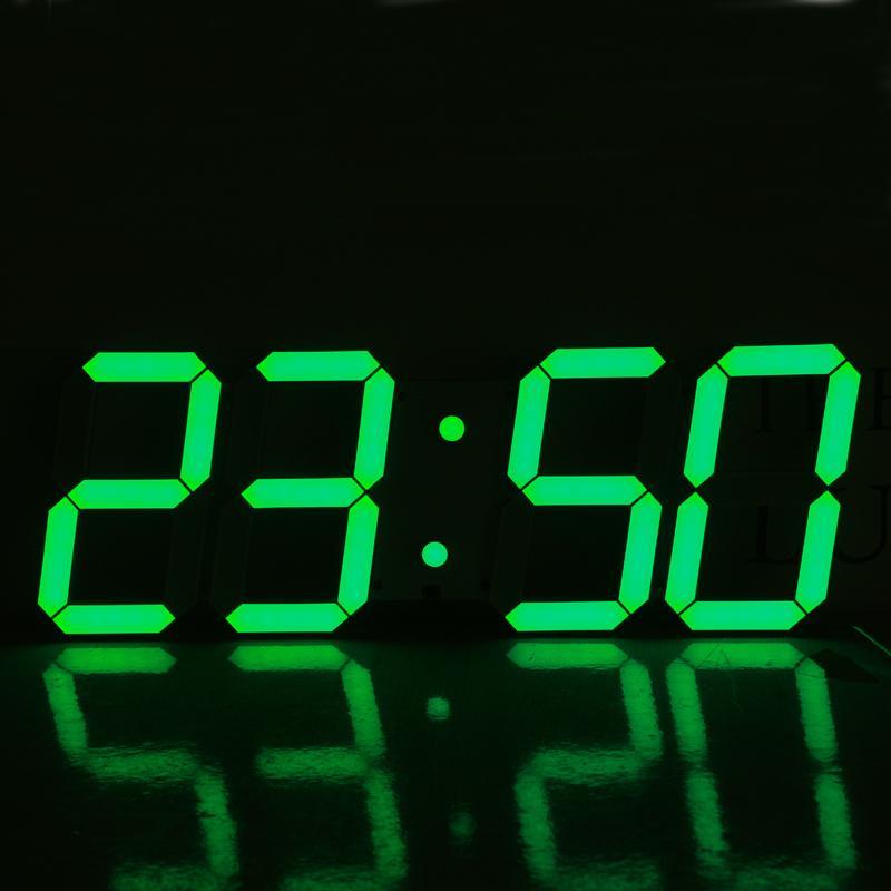 Acheter Vente En Gros Horloge Murale Numérique 3d 3d Grande ...