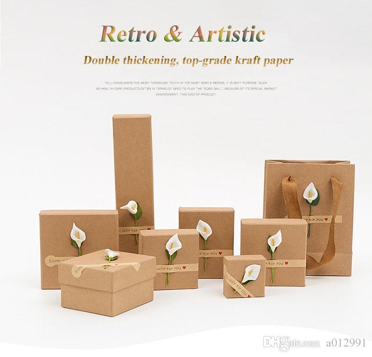 DHL Frete Grátis Por Atacado Retro Caixa de Jóias Artística Presente Caixas de Presente para Pulseira Pulseira Colar Brincos Assista Caso com Travesseiros