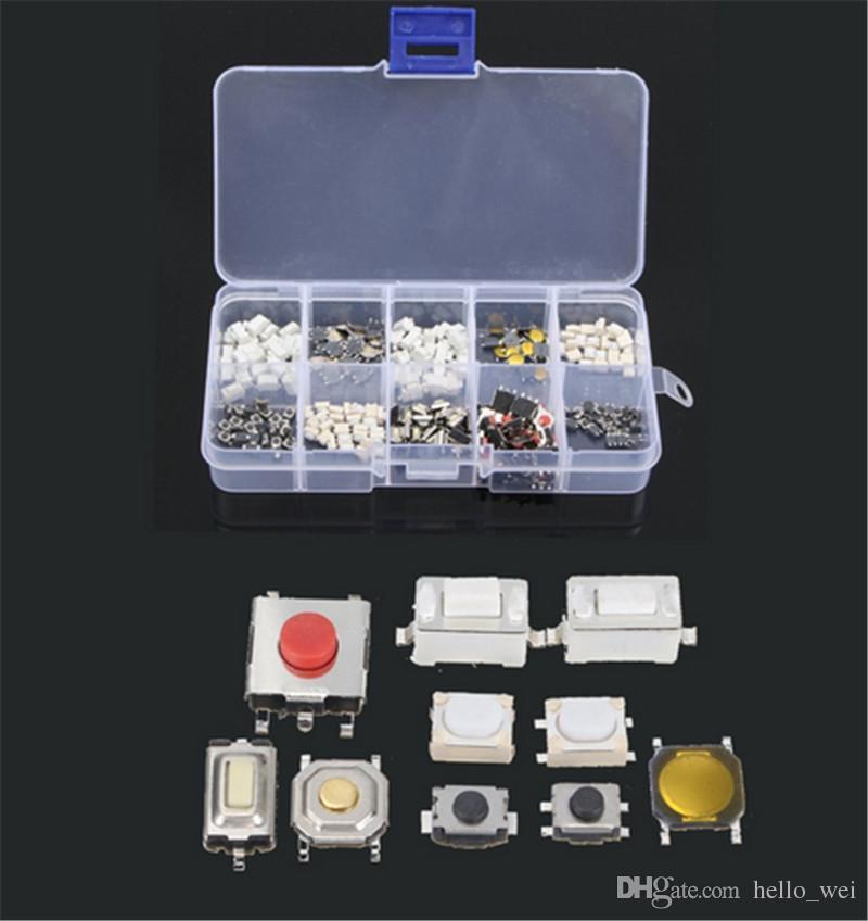 10 tipi Tasto tattile Interruttore tattile Tasto a distanza Tasto microinterruttore TV, apparecchiature audio, videoregistratori