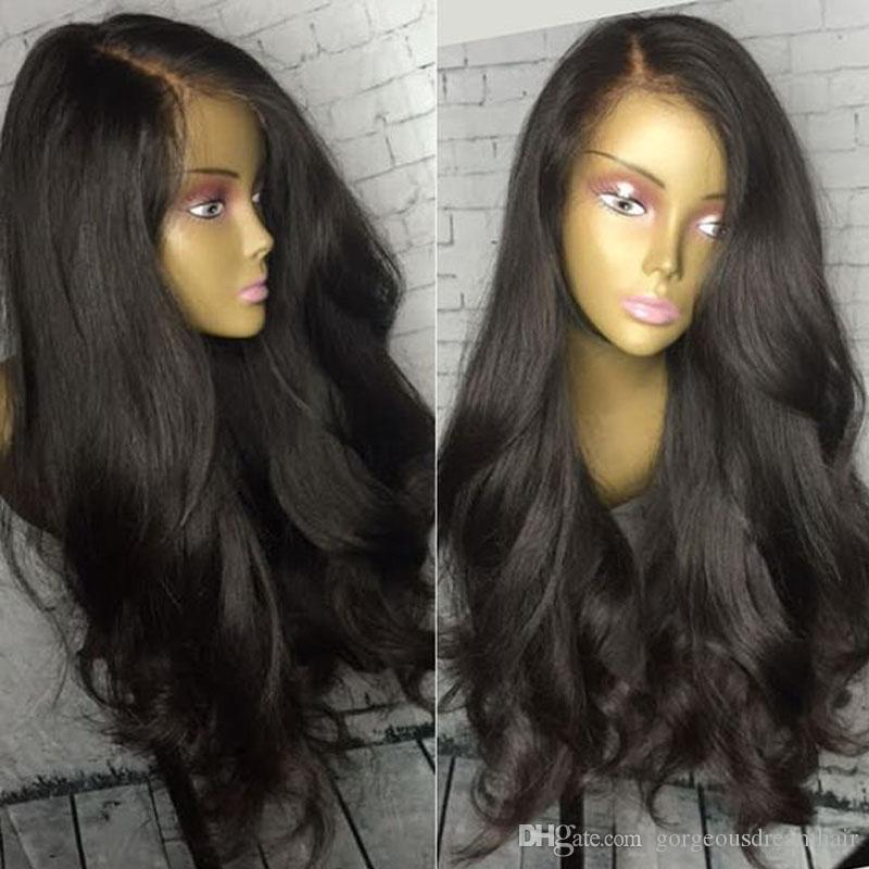 Best Silk Top Glueless Full Lace Wigs Silk Base Lace Front Wigs Wavy Style  Peruvian Human Hair Wigs For Black Women Heat Resistant Wigs Glueless Lace  Wigs ... 2362426c3c