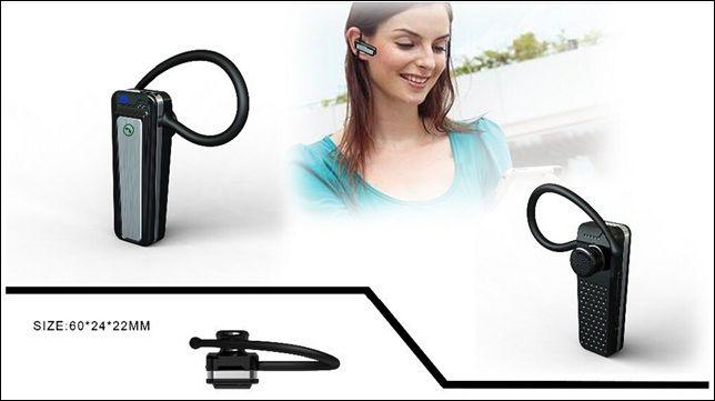 1080P Bluetooth Earphone Headset Camera Audio Video Recorder V22 Mini DV Camera with Retail Box Dropshipping