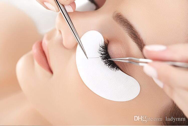 Factory Price! 10,Thin Eye Patch for Eyelash Extension Under Eye Patches Lint Free Gel Pads Moisture Eye Mask DHL