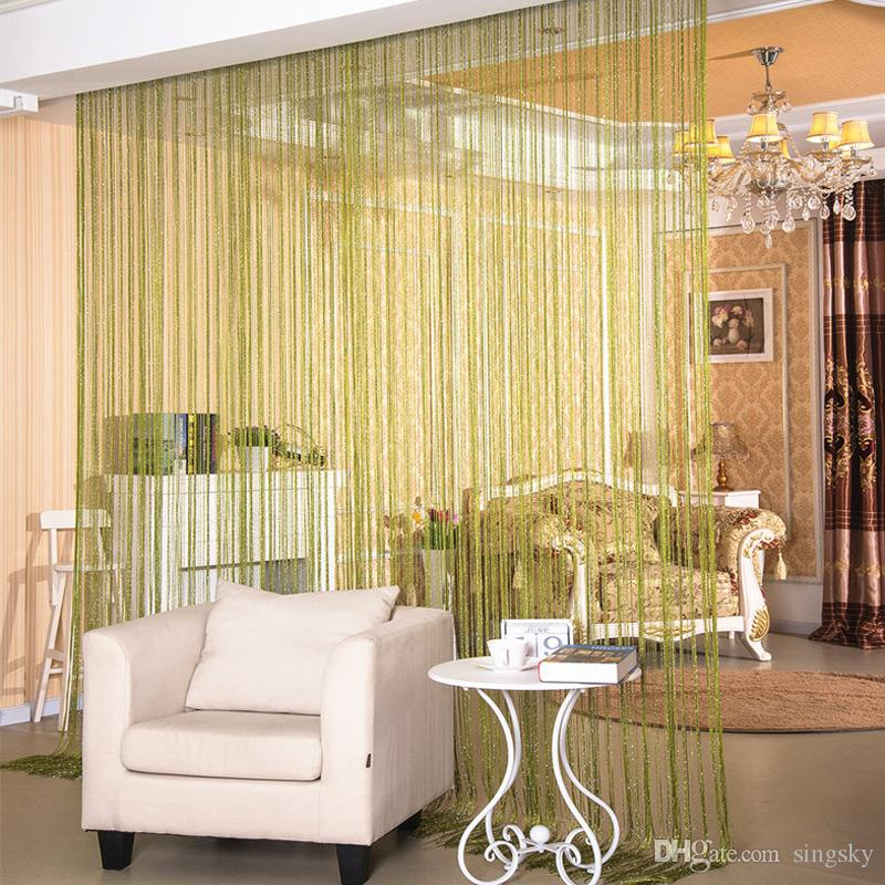 Bling Bling Flat Silver Wire Curtain Wedding Decoration Entrance