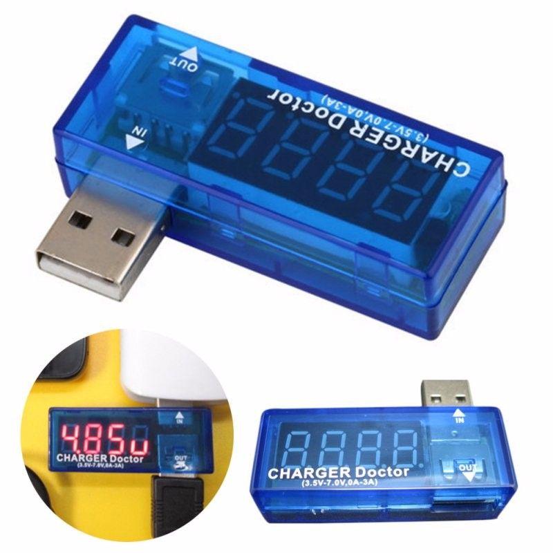 KWS-02 USB Charger Power Bank Meter Voltage Current Capacity Battery Tester LED Power Doctor Meter Voltmeter Ammeter Tester 2017 HOT Sales