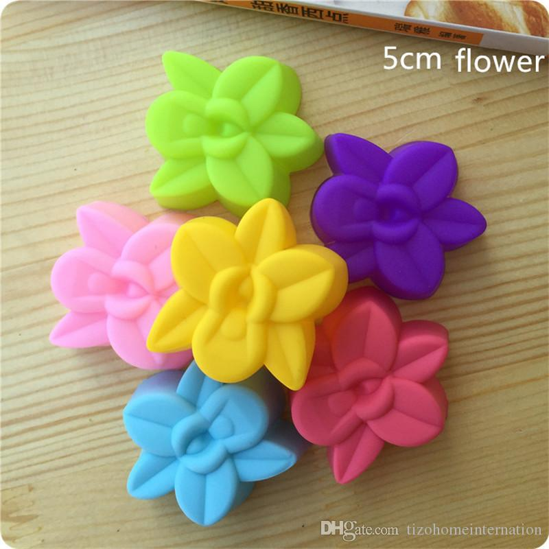 ORCHID  SOAP BAR SILICONE MOULD floral MOLD