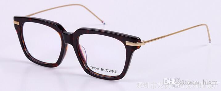 Freeing Brand-2017 new TB-701 glass frame male ladies retro flat mirror frames myopia framework
