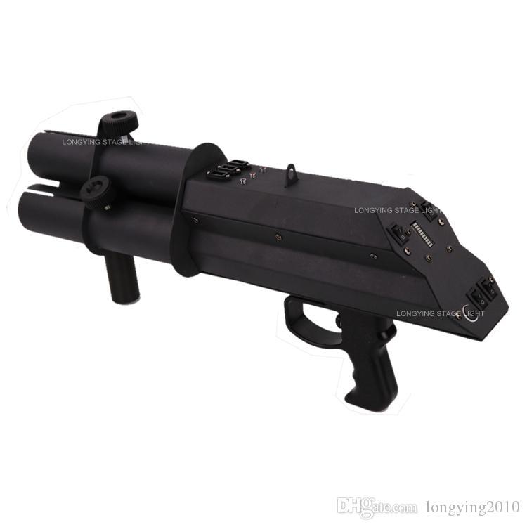 3 طلقة النثار بندقية النثار الكهربائية النار مسدس بندقية التحكم اليد آلة النثار للاحتفالات حفلات الزفاف