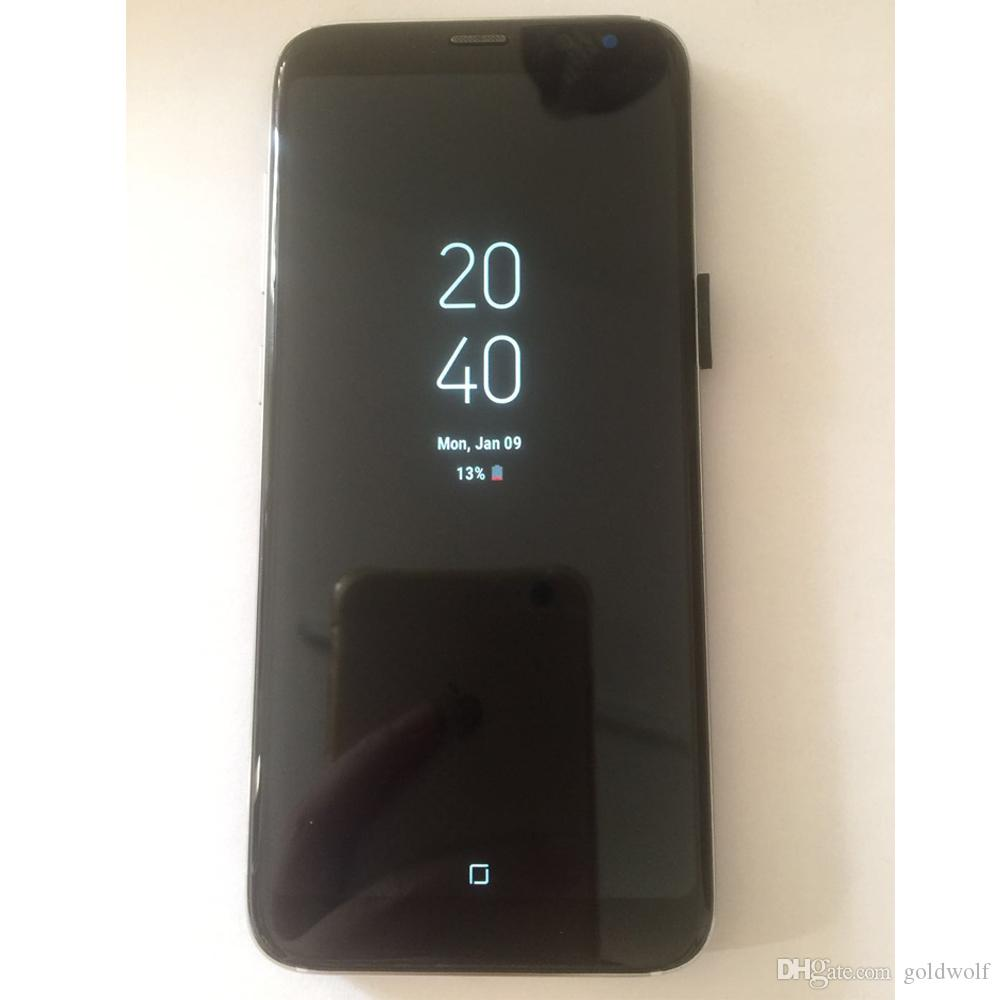 Real Fingerprint Goophone N9 S9 Plus 1GB+8GB Full Screen Show 128GB Show 4G LTE Quad Core MTK6580 Android GPS Wifi 3G Cellphone