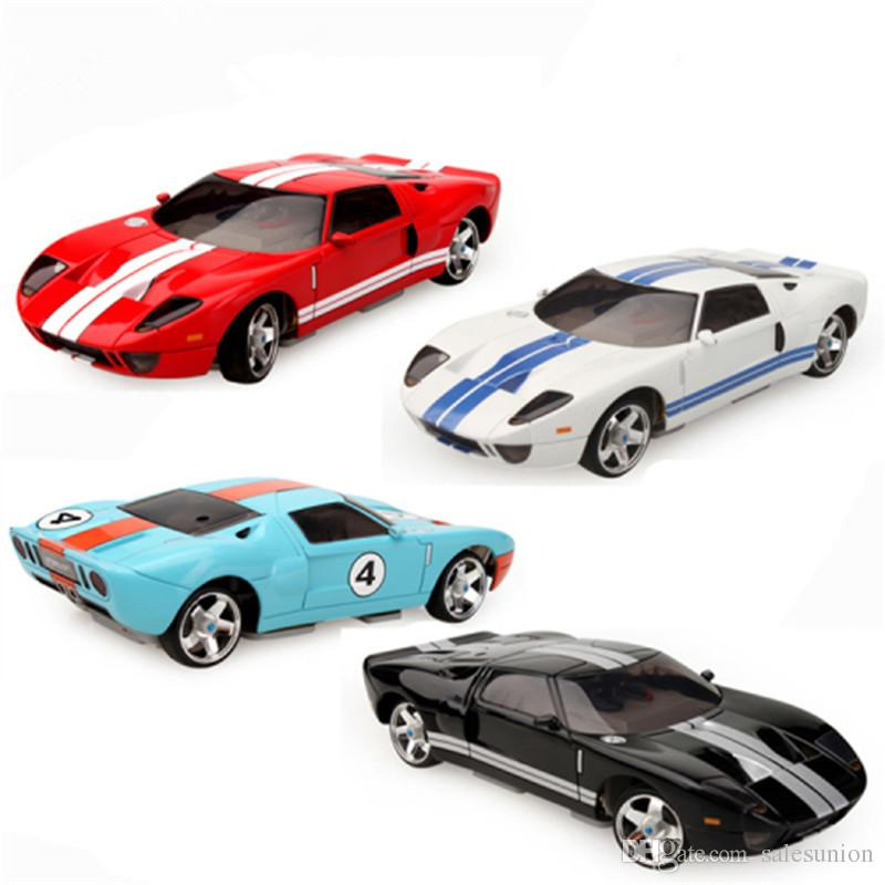 Ford GT Model 4WD RC Car Radio Control Racing Cars Toys For Kids Christmas Gift Hot Sale Juguetes Drop Shipping