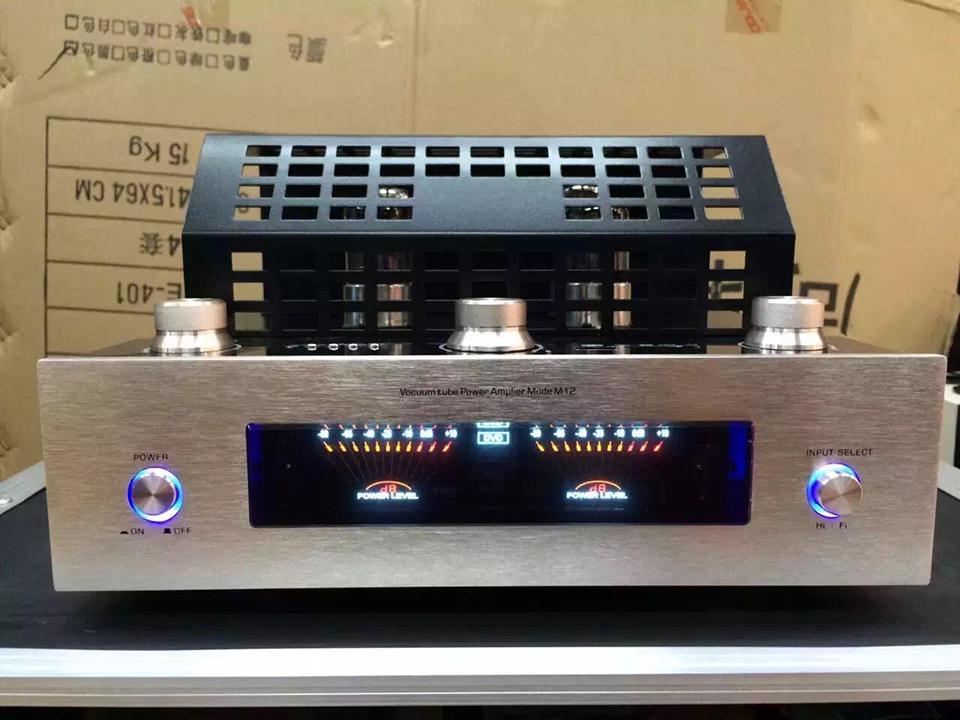 M12 HI-FI بلوتوث أنبوب مكبر للصوت 110 فولت و 220 فولت دعم usb بطاقة sd تشغيل بلوتوث مضخم الطاقة دعم 220 فولت و 110 فولت