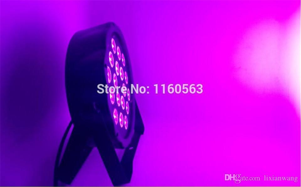 نويفو 2017 18x8 W RGBW 4IN1 RGBW 4IN1 RGBW LED شقة الاسمية اللون خلط LED DJ لوز دي لا كولادا ETAPA Uplighting KTV ديل ديسكو دي DJ DMX512