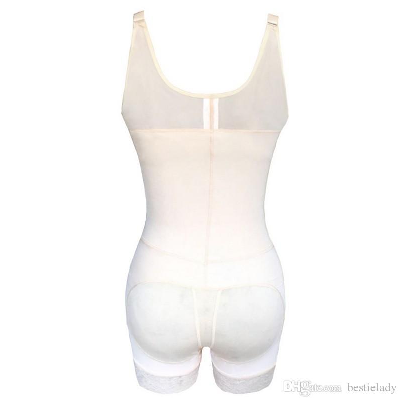جراحة شفط الدهون ضغط Bodyshaper Underbust المشاركة التخسيس الخصر المدرب البطن مراقبة داخلية بات رافع سحاب الجسم المشكل