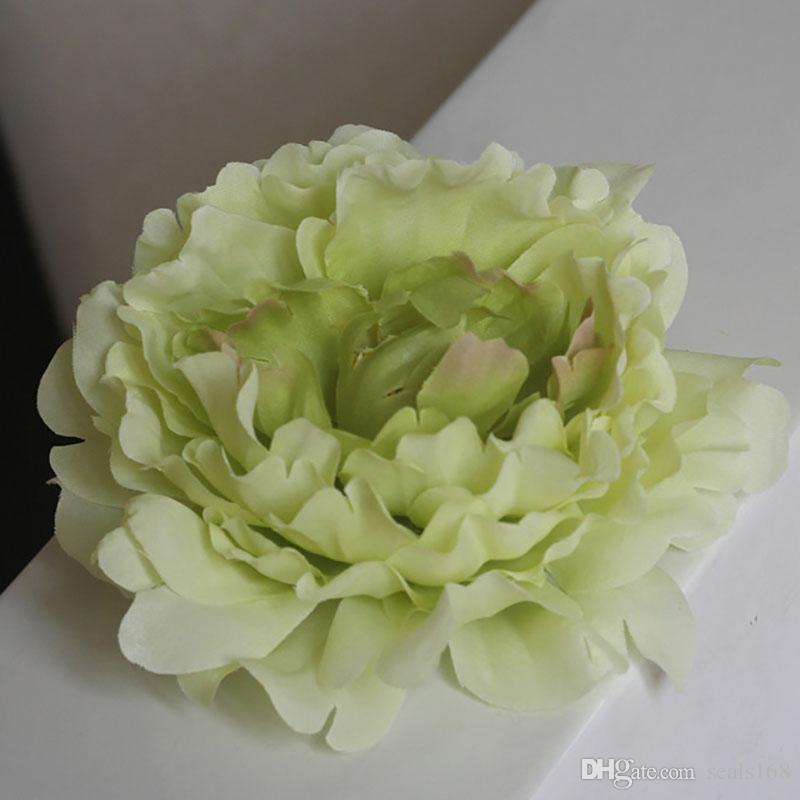 DIY 15 cm Künstliche Blumen Seide Pfingstrose Blumen Köpfe Hochzeit Dekoration Lieferungen Simulation Gefälschte Blume Hauptdekorationen WX-C03