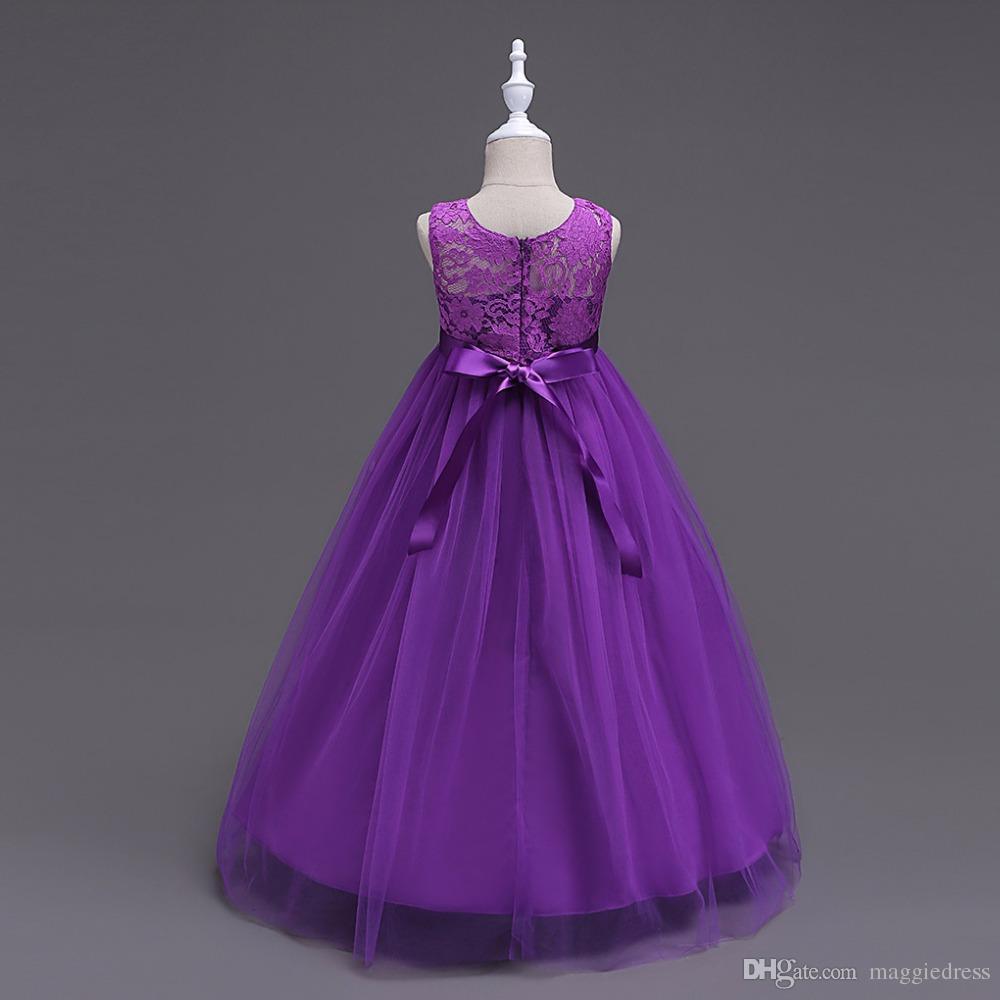 Großhandel Baby Mädchen Partykleid 19 Hochzeit Sleeveless Teenager  Mädchen Kleider Kinder Kleidung Kinder Kleid Kostenloser Versand Von  Maggiedress,