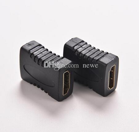 Hot HDMI V1.4 Femmina a Femmina Connettore accoppiatore prolunga F / F HDTV HDCP 1080P Convertitore connettore estensione cavo HDMI