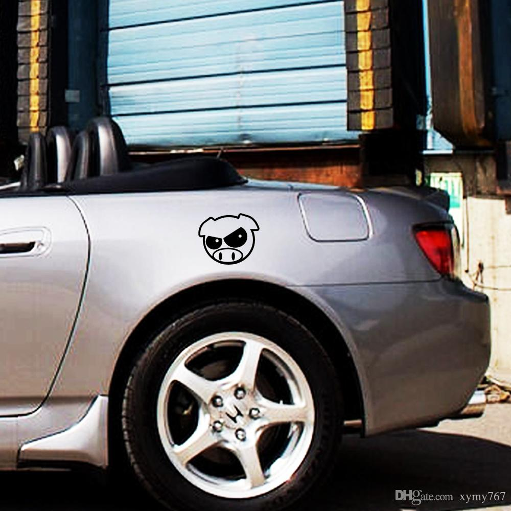 Hot Sale Evil Rally Pigs Sticker Funny Personality Decal Vinyl Jdm Car Styling Import Drift Decor Art Form