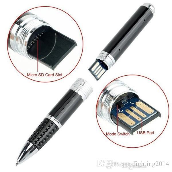 1080P Mini Pen Camera Video Recorder Ball Point Pen DVR Gadget portable Mini DV Security camera Support UP to 32GB Memory Card