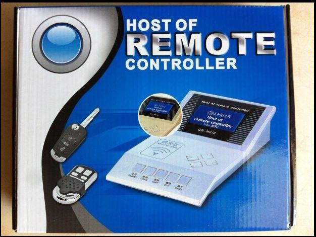 Venda quente QN H618 Programador Chave Mais Novo QN-H618 Controlador Remoto Mestre H618 Wireless RF Copiadora Livre Navio Livre Selling