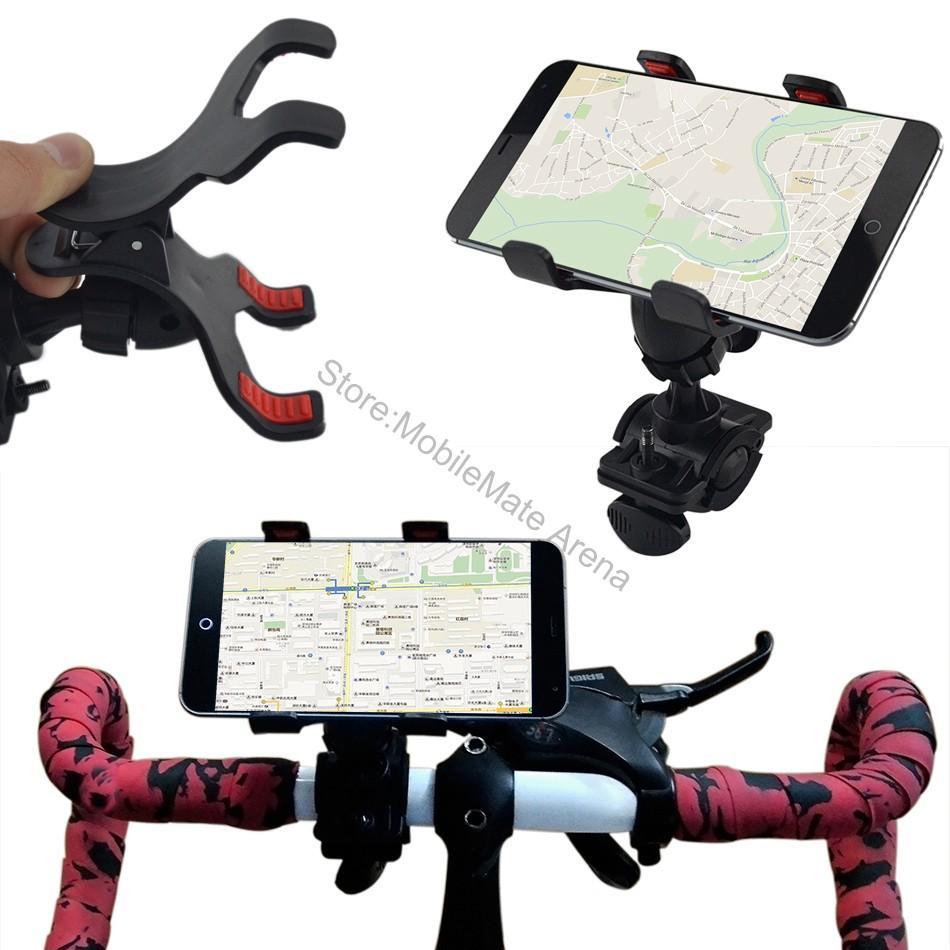 2018 Phone Holder Accessory Bicycle Bike Handlebar Frame Mount