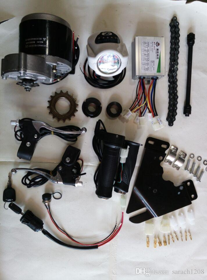 MY1016Z3 350W 36v electric mountain bike motor electric bicycle conversion kit electric motor for scooter Brushed DC Motor Kit