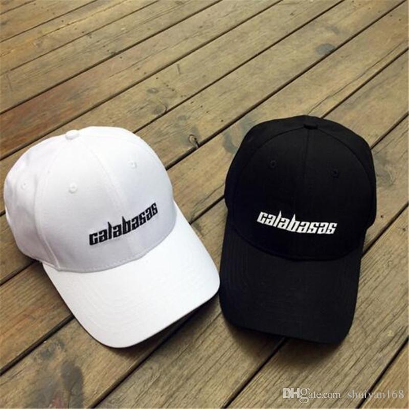 Compre Sombreros Para Hombre Kanye West Bend Brim Sombrero Calabasas Gorra  Bordada Snapback Gorra De Diseño Para Mujeres Hombres Hip Hop Gorras De  Béisbol A ... ec17ae7dad4